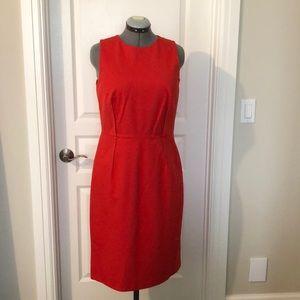 J Crew Sleeveless Red Dress